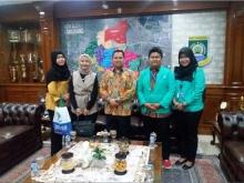 Walikota Tangerang Temui Kunjungan Mahasiswa Institut Stiami Kampus Kota Tangerang