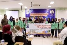 Sekretaris Lldikti Hadiri Jumat Berseri Dan Melepas 465 Mahasiswa Institut Stiami Ke Jawa Timur