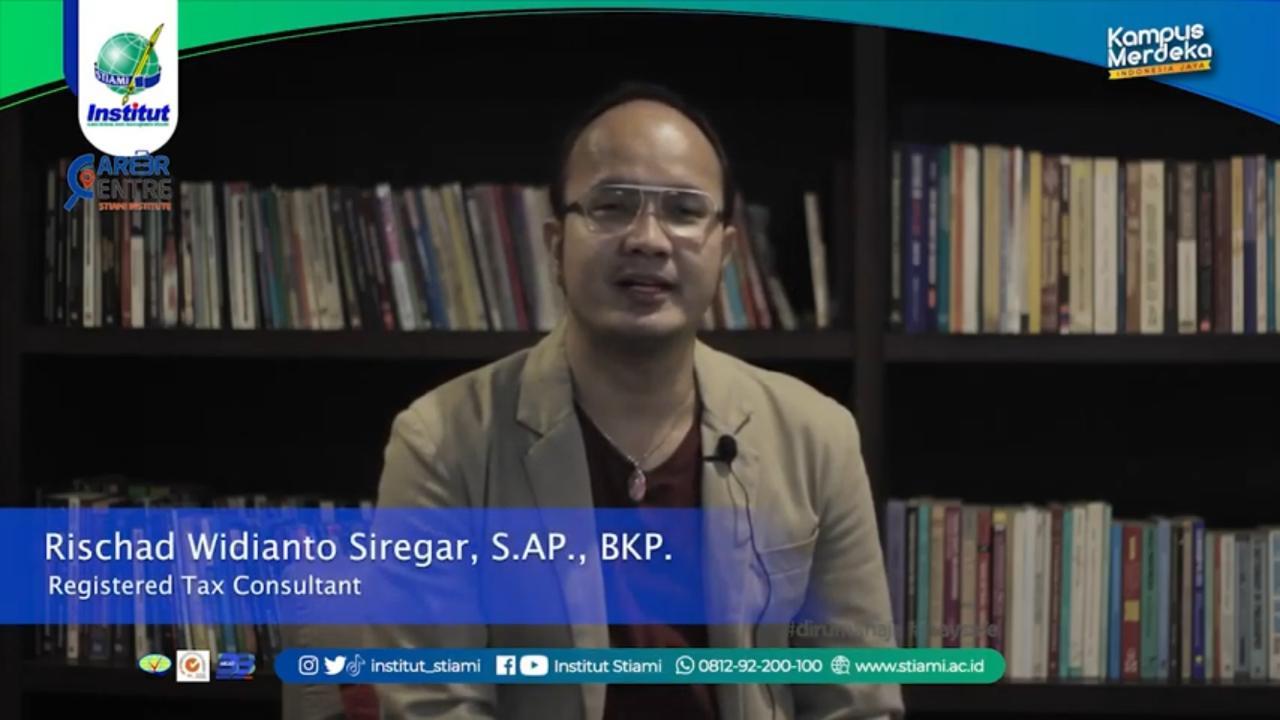 PENGALAMAN RISCHARD WIDIANTO SIREGAR || TESTIMONI ALUMNI INSTITUT STIA